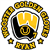 Golden Gloves car window sticker decal magnet