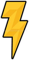 lightning bolt helmet sticker decals
