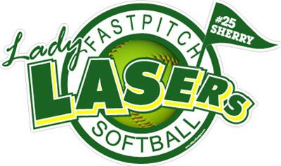 Car Decals Magnets Wall Decals And Fundraising For Lady Lasers - Custom car magnets and stickerscar decals magnets wall decals and fundraising for softball