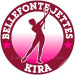 Majorette decals stickers clings & magnets