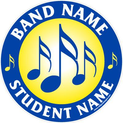 Car Decals Magnet Wall Decals For School Band Music And Fundraising - Car magnets for sport fundraiser