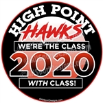 Class Of car stickers decals clings magnets