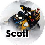 Snowmobile stickers clings decals & magnets