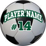 Soccer Ball Window Decals Stickers Magnets Wall Decals