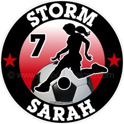 soccer window sticker decal magnets