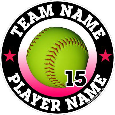 Car Decals Magnets Wall Decals And Fundraising For Softball - Custom stickers and magnets