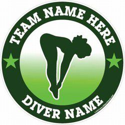 diving car stickers decals and magnets