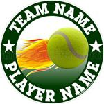 tennis window stickers decals clings & magnets