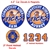 Ticks Lacrosse Car Decals Magnets Helmet Decals