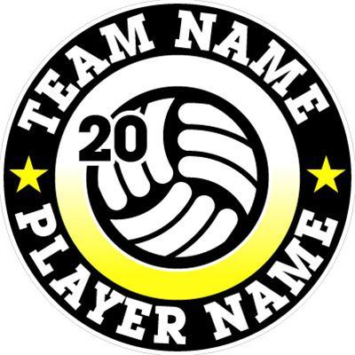 Car Decals Magnets Floor Wall Decals Fundraising For Volleyball - Custom volleyball car magnets