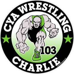 wrestling window sticker decals clings & magnets