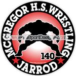 wrestling stickers decals magnets wall decals