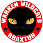 Wildcat window stickers decals clings & magnets