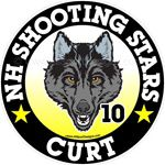 Wolf car window sticker decals & magnets