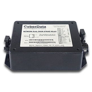CyberData 011375 Dual Door Strike Relay Module
