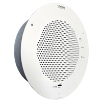CyberData PoE SIP Talk-Back Speaker, Gray White