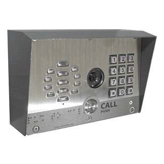 CyberData 011414 Outdoor SIP Video Intercom with Keypad