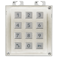 2N IP Verso Module, Keypad, Nickel