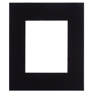 2N IP Verso Mount, Wall Frame, 1 Module, Black