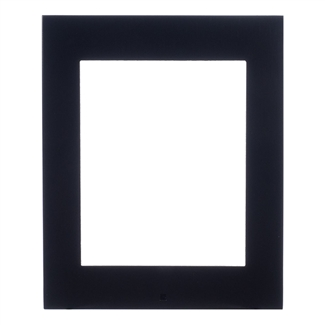 2N IP Verso Mount, Surface Frame, 1 Module, Black