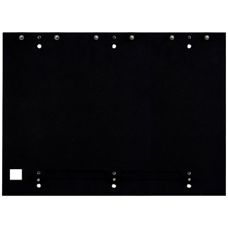 2N IP Verso Mount, Backplate, 3W x 2H Modules