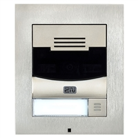 2N IP Solo Intercom, Surface, Nickel