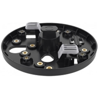 Axis T91A33 Lighting Track Mount, Black, 4-Pack