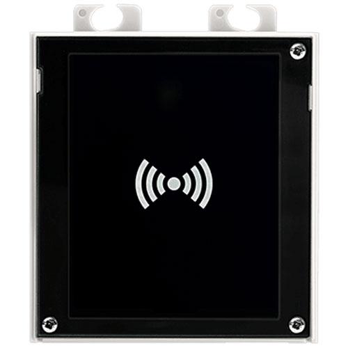 2N Helios IP Verso Intercom Module, RFID Reader, 13 56 MHz, NFC - 01712-001