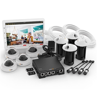 Axis F34 IP Surveillance System