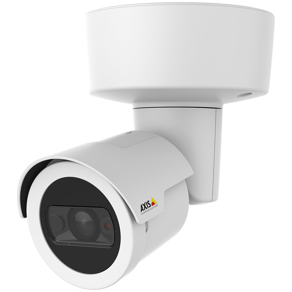 Axis M2025-LE 1080p IR Outdoor Bullet IP Camera, White - 0911-001