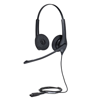 Jabra BIZ 1500 Duo QD Stereo Wired Headset