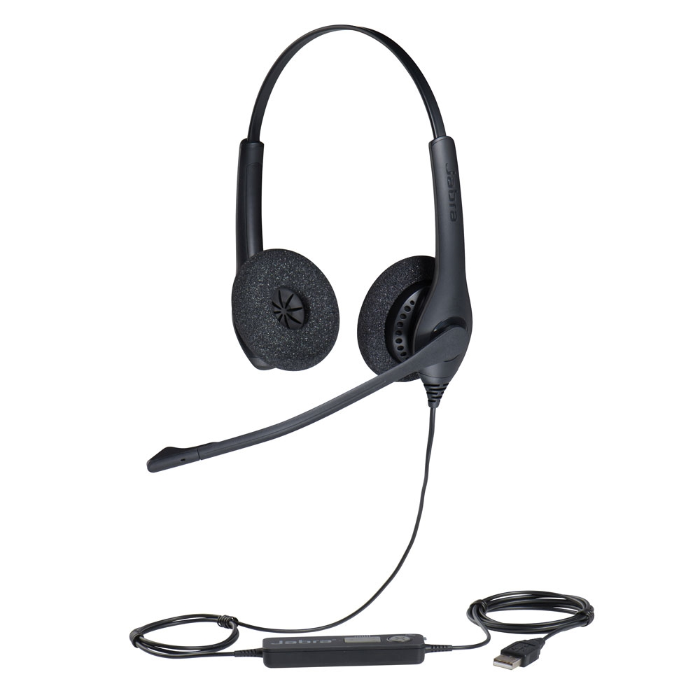 JABRA BIZ 1500 USB DUO Headset