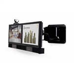 "Polycom Single 42"" Media Center Wall Bracket"