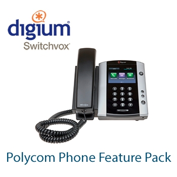 Digium Switchvox Polycom Phone Feature Pack - 1SWXPPFPPCOM1