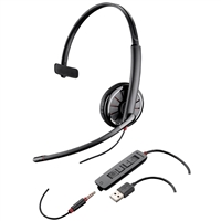 Plantronics Blackwire C315-M Mono Wired Headset for Microsoft