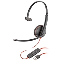 Plantronics Blackwire 3210 USB-A Headset