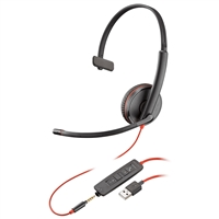 Plantronics Blackwire 3215 USB-A & 3.5mm Headset