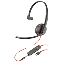 Plantronics Blackwire 3215 USB-C & 3.5mm Headset