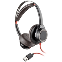 Plantronics Blackwire 7225 Headset, USB-A, Black