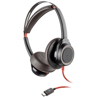 Plantronics Blackwire 7225 Headset, USB-C, Black