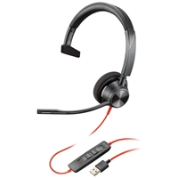 Poly Blackwire 3310, USB-A