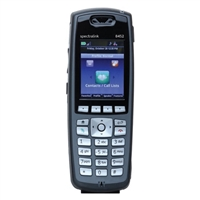Spectralink 8452 WiFi Handset with Barcode Scanner, Black