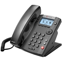 Polycom VVX 201 Phone with AC Adapter