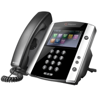 Polycom VVX 600 Phone with AC Adapter