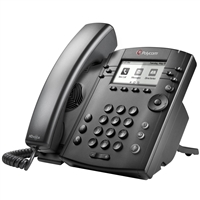Polycom VVX 301 Business Media Phone with AC Power Supply