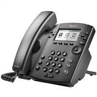 Polycom VVX 311 Business Media Phone with AC Power Supply
