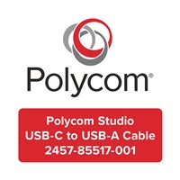 Polycom Studio USB-C to USB-A Cable