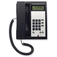 Telematrix 3300IPMWB 1-Line Black Hotel IP Phone