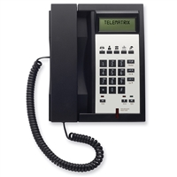 Telematrix 3302IPMWD5 2-Line Black Hotel IP Phone