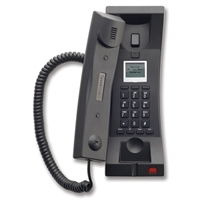 Telematrix 3302TRM-IP Trimline 2-Line Black Hotel IP Phone